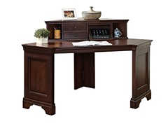 "60"" Writing Desk w/Hutch"