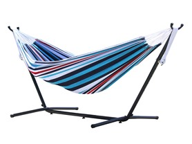 Vivere 8-Foot Double Hammock with Stand
