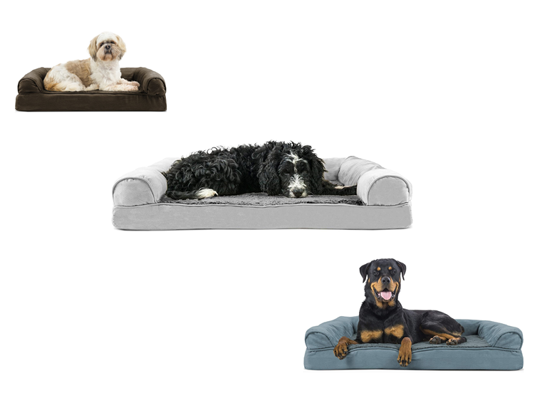 FurHaven Sofa-Style Orthopedic Pet Bed