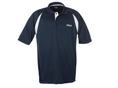 Fila Polo Shirt - Navy/White
