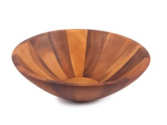 "Acacia 12"" Diameter Center Piece Bowl"
