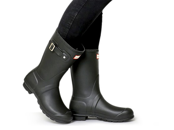 Original Short Rain Boot -Matte Black