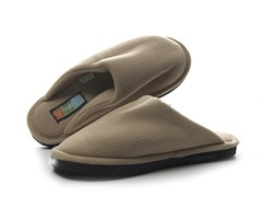Brightfeet Lighted Slippers Adult - Beige