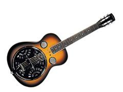 Trinity River Mudslide Resonator Guitar