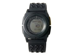 Meridian Black Digital Travel Watch