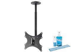 "Ceiling Mount for 13-42"" TVs w/ Screen Clean Kit"