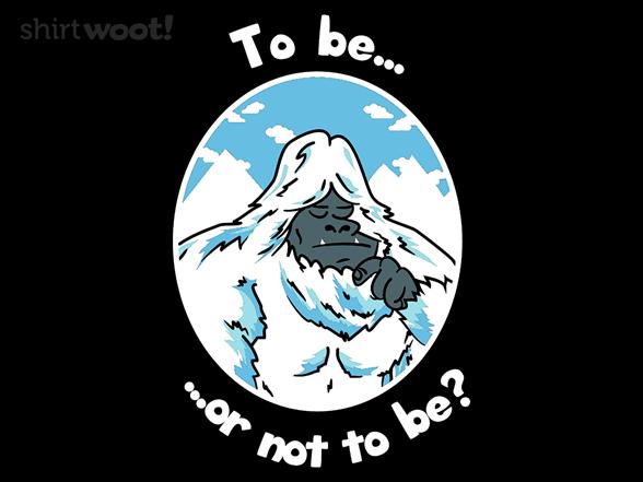 To Yeti, or not to Yeti XQ98517d