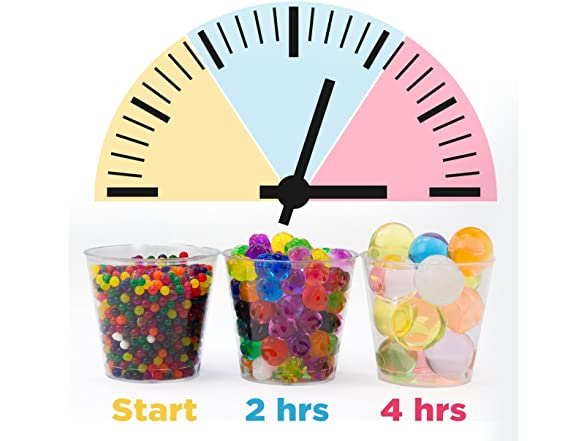 Non-Toxic Water Sensory Toy For Kids Water Beads With Fine Motor Skills Toy Set