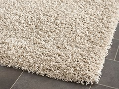 California Shag Rug Beige (5 Sizes)