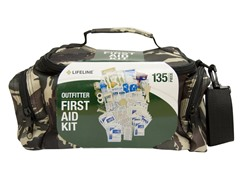 Lifeline Camouflage 135pc. First Aid Kit