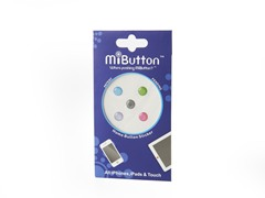 Apple Home Button Sticker-Glitter Pastel