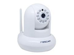 720p H.264 Wireless IP Camera - White