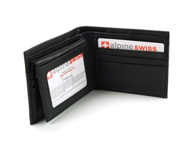 Alpine Swiss Wallet - RFID-549