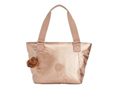 Kipling Jonesy Small Tote, Copper Metallic