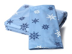 MicroFlannel Twin Set - Snowflake