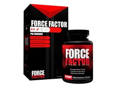Force Factor Pre-Workout, 120 Count