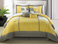 Dorchester 8Pc Set-Yellow-2 Sizes
