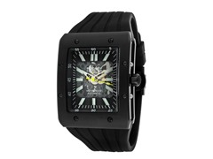 Men's Automatic See Thru Dial Black