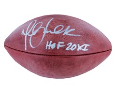 Marshall Faulk NFL Duke Football w/ HOF