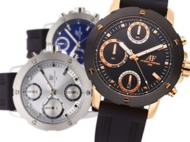 Men's Aubert Freres Corbitt Chronograph - 6 Colors