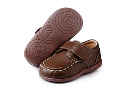 Squeaky Shoe - Weston, Brown (3-8)