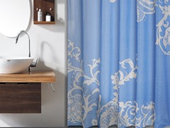 Isabella PEVA Floral Shower Curtain