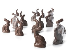 Chocolate Bunny  - 18ct