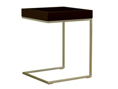 Meritage Black Oak Accent Table