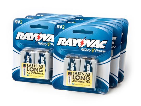 Rayovac Alkaline Batteries 7 Options
