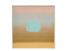 Sunset, 1972 40/40 (gold, blue)