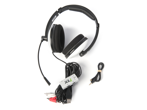 hook up ear force xl1 Pc chat adapter cable kit for turtle beach ® & similar gaming headsets  just a heads up if someone is in  audio only played through right ear.