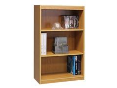 TiADA NO TOOL 3-Tier Bookcase Beech