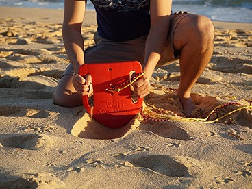 The Hawaiian Sand Anchor