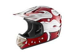 Youth Off-Road Helmet, Red