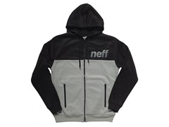 Neff Block Shredder Hoodie - Black/Grey