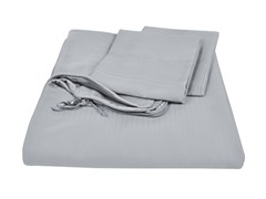 Homesource Clip 'n Zip Duvet Set-Black Pearl-2 Sizes