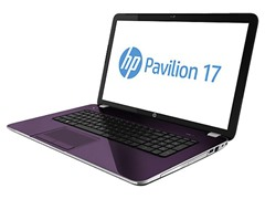 "17.3"" AMD A10 Quad Core Laptop - Purple"
