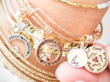 Baubelle Stackable Charm Bracelets
