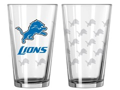 Lions Pint Glass 2-Pack