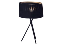 Sticks Table Lamp: Black