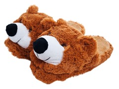 Cuddlee Slippers - Teddy Bear