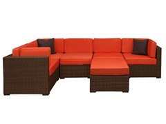Bellagio 6-Piece Outdoor Sectional