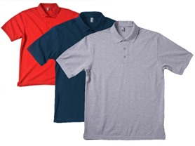 Zorrel Men's 3-Pack Pique Polo Shirt - 4 Styles