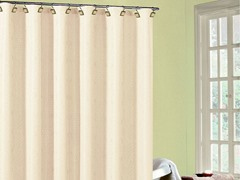 Annabella Fabric Shower Curtain - 3 Colors
