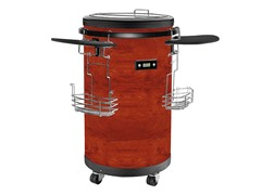 Equator Refrigerated Party Beverage Cooler, Cherry