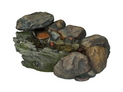 Cascading Stone Fountain