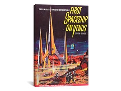 First Spaceship on Venus (2-Sizes)
