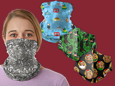 Crazy Gaiters and Face Masks!