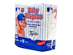 Detroit Tigers Disposable Diapers
