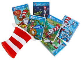 Dr. Seuss Cat in the Hat 6 DVD Bundle